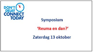 Aanmelden symposium zaterdag 13 oktober