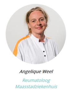 Reumatoloog Angelique Weel