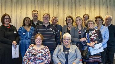 Foto alle deelnemers aan de Edgar Stene prijs
