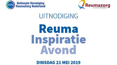 Reuma Inspiratieavond 21 mei