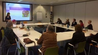 Aanwezigen tijdens themadag patientpartners ReumaZorg Nederland