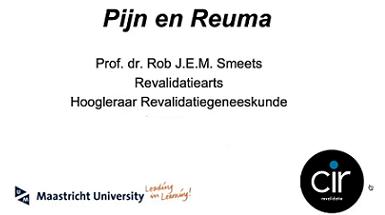 Webinar Reuma en Pijn