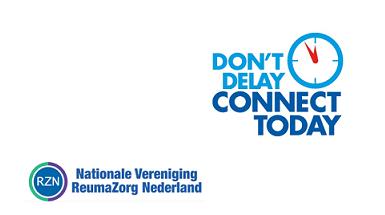 Wat doet ReumaZorg Nederland in het kader van Don't Delay Connect Today?