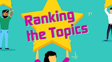 Ranking the topics