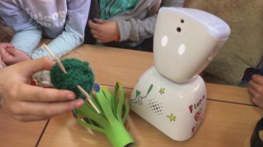 Thuis, maar toch op school dankzij robot voor langdurig zieke kinderen